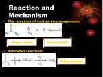 reaction and mechanism