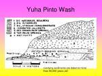 yuha pinto wash