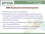 nmr restraints grid development1