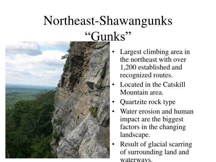 Northeast-Shawangunks