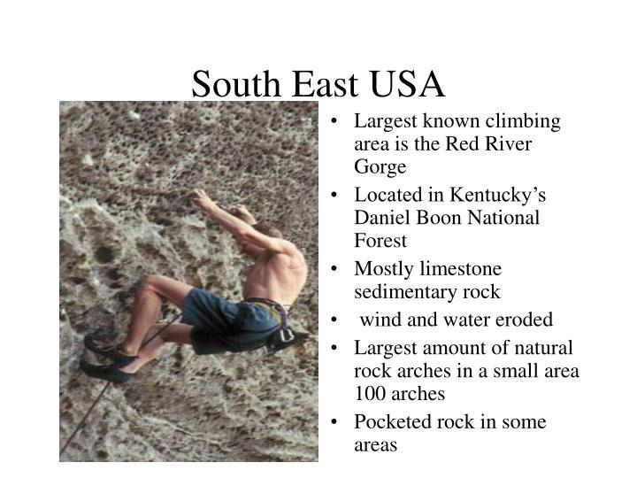 South East USA