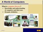 a world of computers1