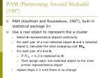 pam partitioning around medoids 1987