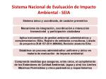 sistema nacional de evaluaci n de impacto ambiental seia