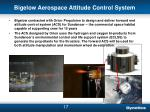 bigelow aerospace attitude control system