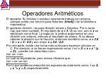 operadores aritm ticos1
