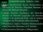 constituci n te sta 1991