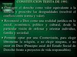 constituci n teista de 1991