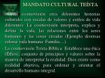 mandato cultural te sta