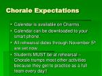 chorale expectations1