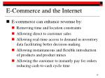 e commerce and the internet3