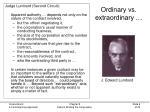 ordinary vs extraordinary