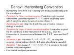 denavit hartenberg convention1