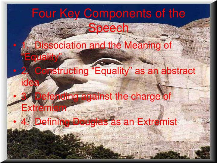 Four Key Components of the Speech