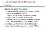 geothermisches potenzial global3