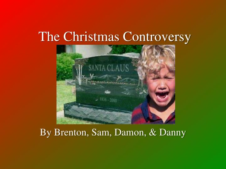 the christmas controversy n.