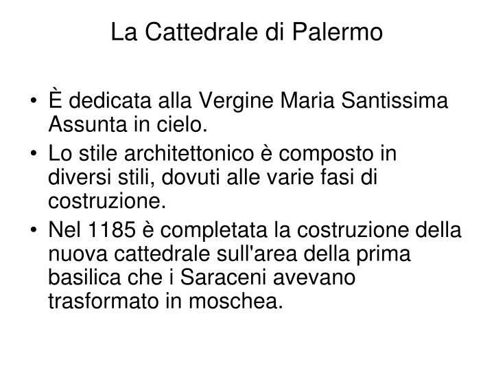 La Cattedrale di Palermo