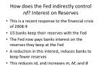 how does the fed indirectly control rd interest on reserves