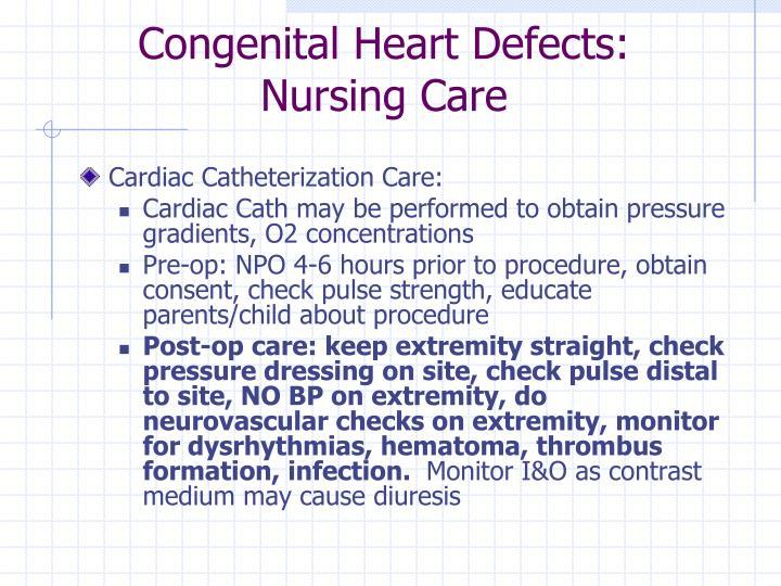 Congenital Heart Defects: