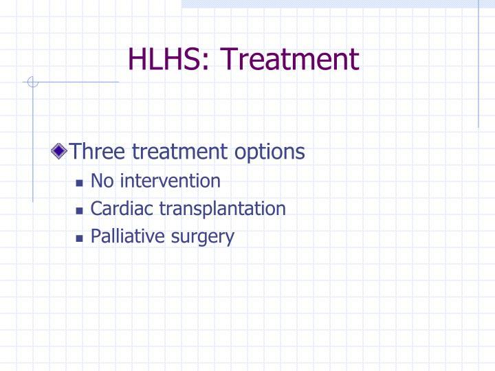 HLHS: Treatment