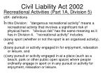 civil liability act 20022