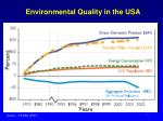 environmental quality in the usa1