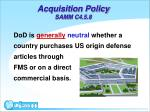 acquisition policy samm c4 5 8