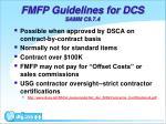 fmfp guidelines for dcs samm c9 7 4