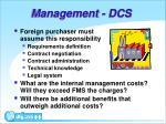 management dcs