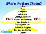 what s the best choice