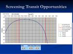 screening transit opportunities1