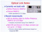 optical link notes
