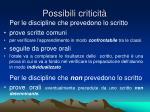 possibili criticit3