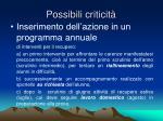 possibili criticit5