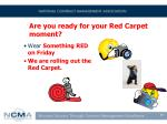are you ready for your red carpet moment