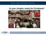 is your chapter ready for christmas