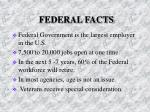 federal facts