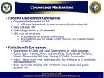 conveyance mechanisms