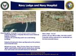navy lodge and navy hospital