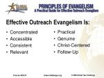 effective outreach evangelism is