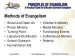 methods of evangelism