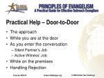practical help door to door