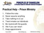 practical help prison ministry
