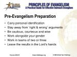 pre evangelism preparation1