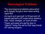 neurological problems