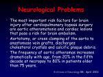 neurological problems1