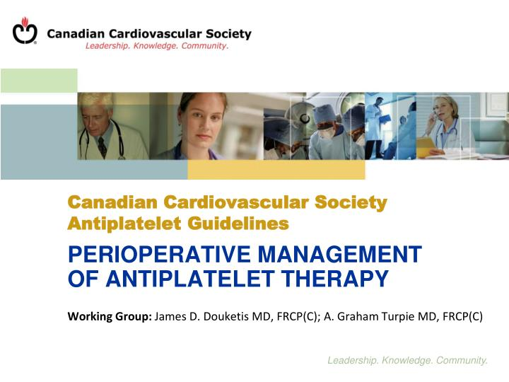 canadian cardiovascular society antiplatelet guidelines n.
