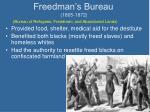 freedman s bureau 1865 1872