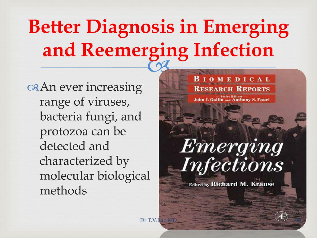 Better Diagnosis in Emerging and Reemerging Infection