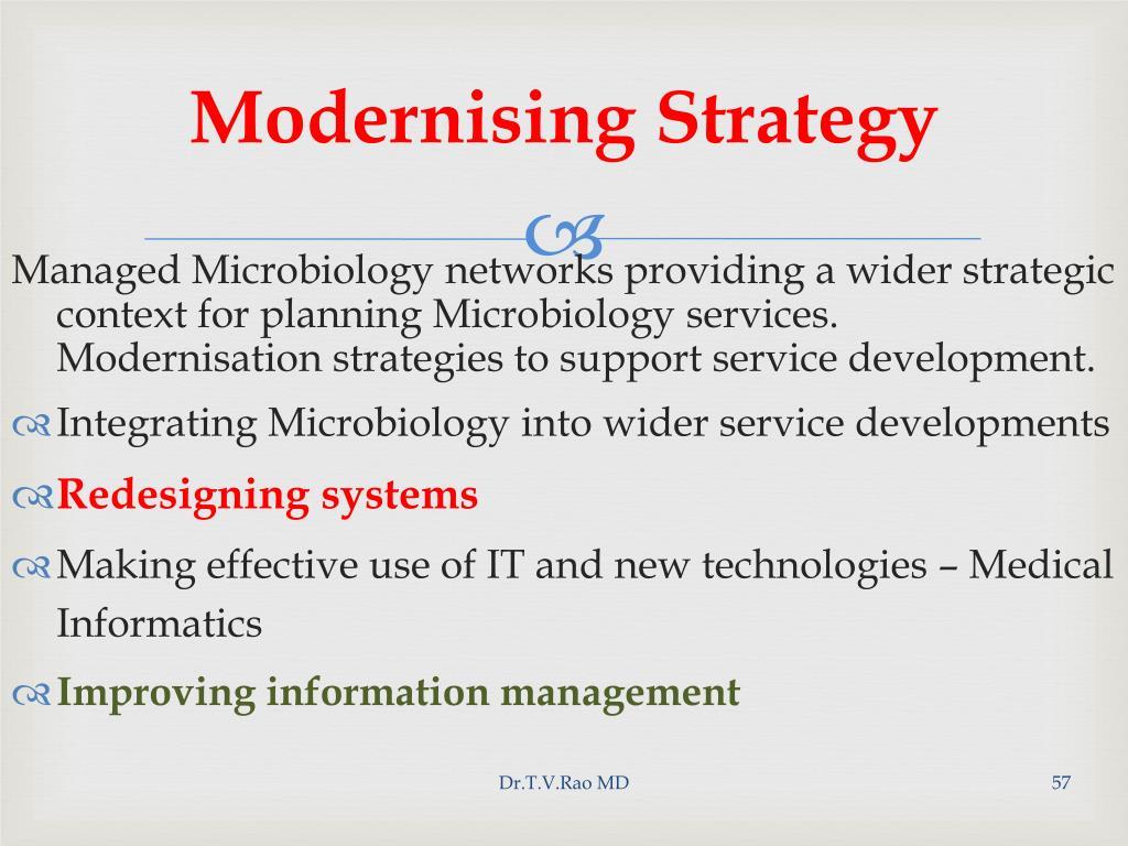 Modernising Strategy